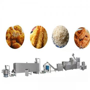 Fully Automatic Sweet extrusion puffed bread crumb making machine
