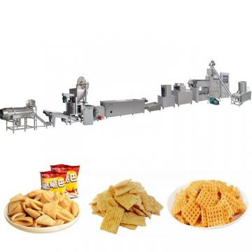 Automatic Pizza Rolls/Crispy Shell Processing Line/ Fried Snack Food Wheat Flour Bugles Chips Making Machine