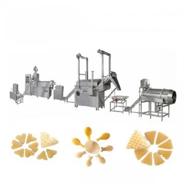 3D Extruded Fried Snack Food Flour Bugles Chips Making Machinev