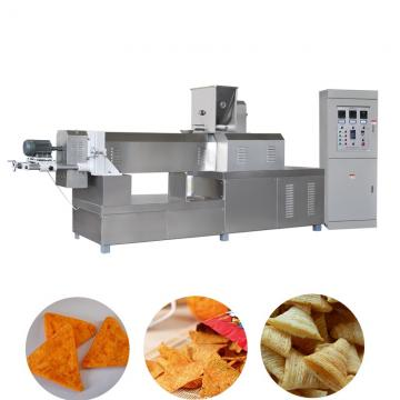 Automatic Extruded Wheat Flour Fried Snack Food Bugles Pillow Stick Chips Production Line Making Machine