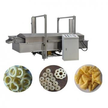 High efficiency twin screw extruder 3D pellet snacks food making machine